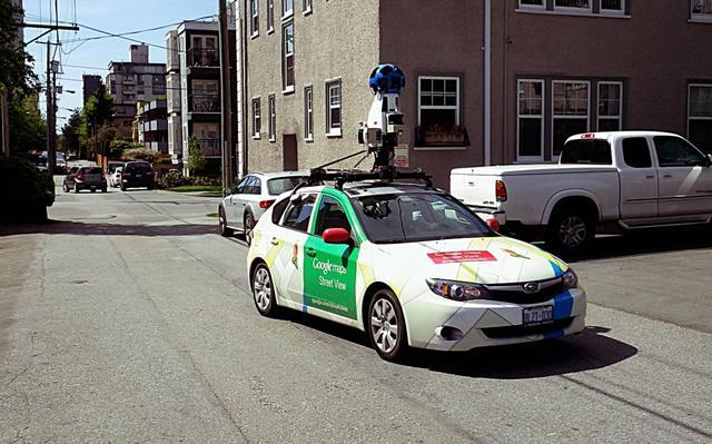 街景车发生车祸 谷歌可能被告上法庭